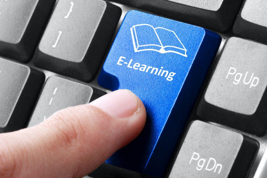 e-learning keyboard tab