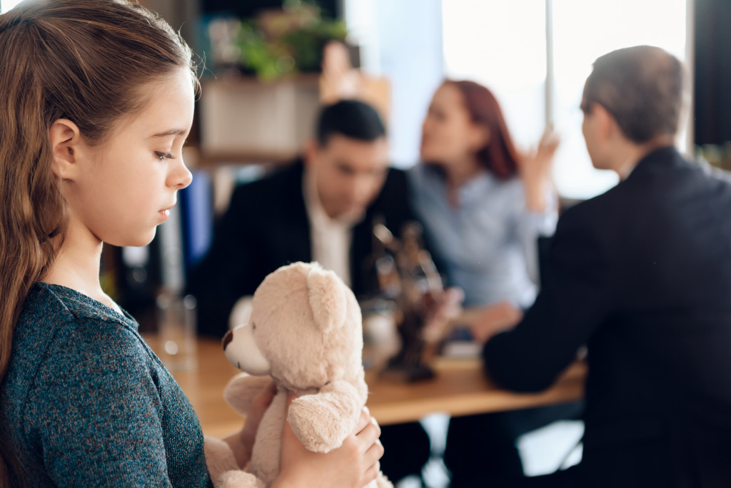 child during divorce